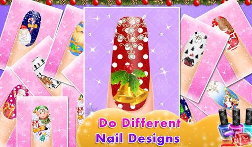Christmas Doll Nail Art Salon 1.0.0 screenshots 2