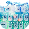 Glass Water Keyboard Theme APK Icon