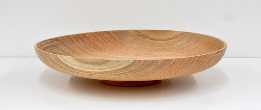 "Photo: Ilya Zavorin - Platter - 12 1/2"" x 2 1/2"" - Honey Locust"