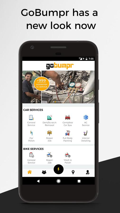 GoBumpr Car & Bike Service- screenshot
