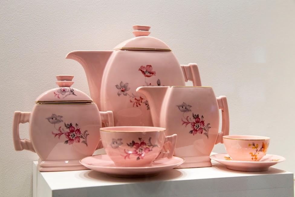 różowa porcelana, Żywe Muzeum Porcelany, Ćmielów