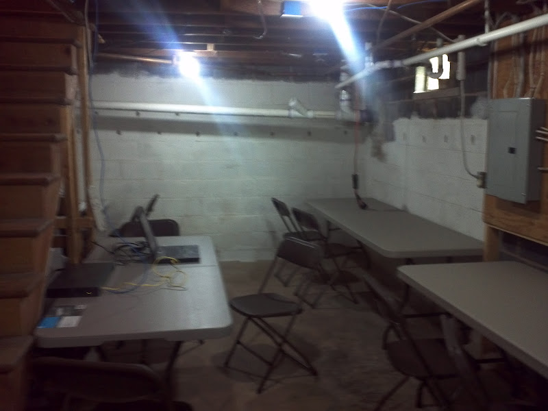 Photo: Gaming area Pre-Lan Party