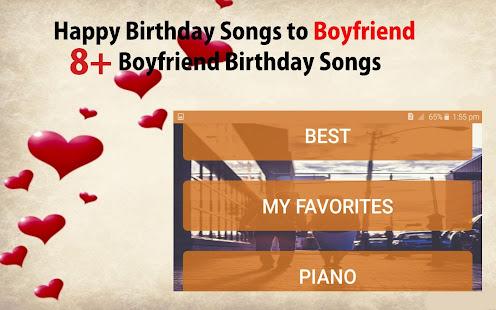 grattis till pojkvän Grattis på födelsedagen sånger till pojkvän – Appar på Google Play grattis till pojkvän