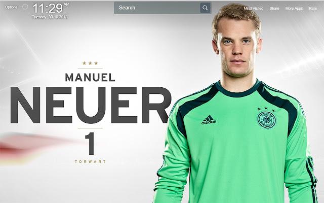 Manuel Neuer Wallpapers Theme New Tab