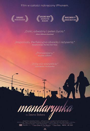Polski plakat filmu 'Mandarynka'