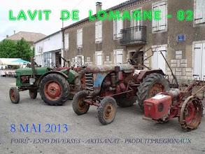 Photo: Vieux tracteurs d'une autre époque
