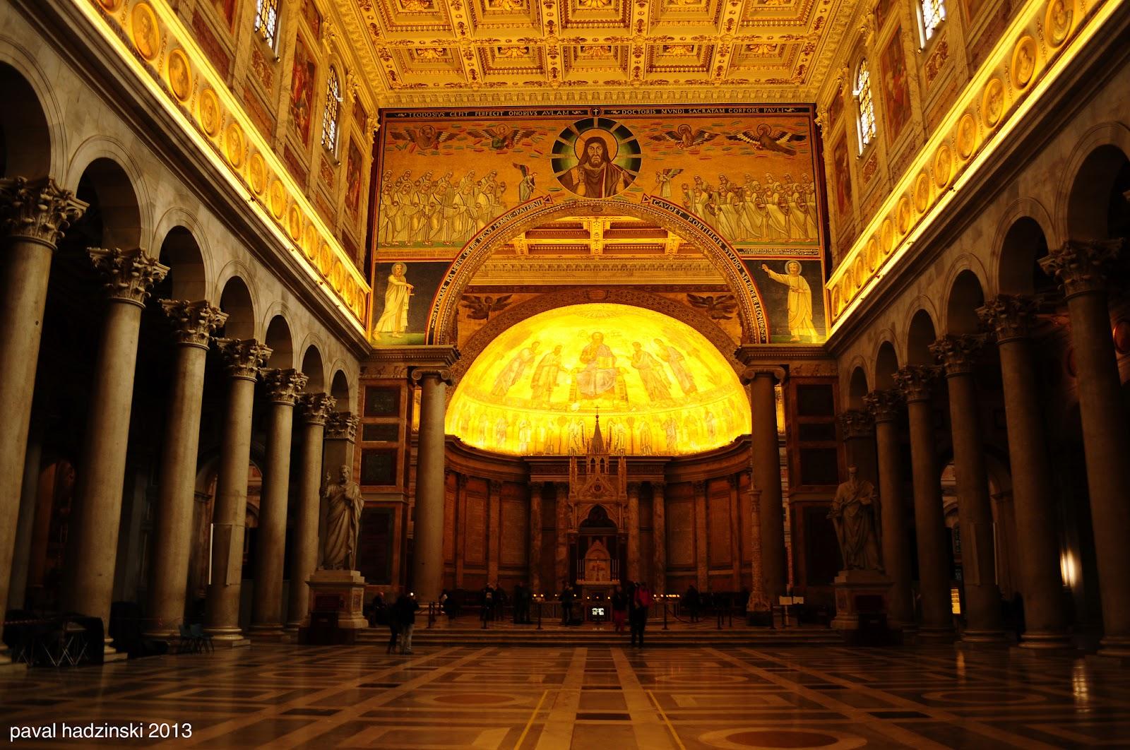 Vương Cung Thánh Đường Thánh Phaolo – Roma, Ý