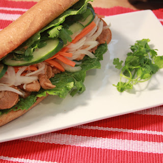 Vietnamese BANH MI Sandwich (베트남 반미 샌드위치).