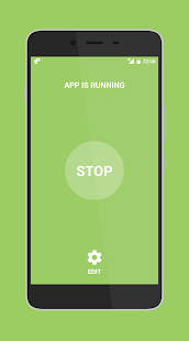Low battery SMS alert - náhled