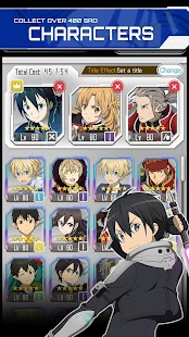 SWORD ART ONLINE;Memory Defrag Screenshot