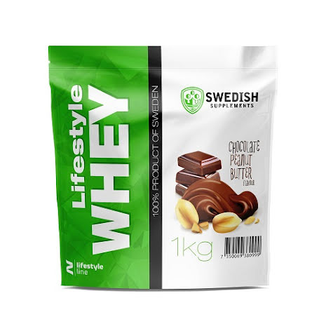 Swedish Supplements Lifestyle Whey Protein 1kg - Chocolate/Peanutbutter