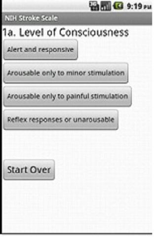 NIH Stroke Scale App
