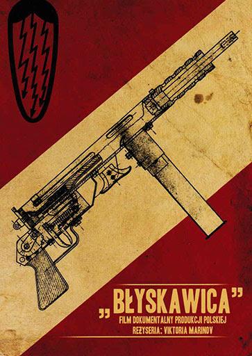 Przód ulotki filmu 'Błyskawica'