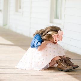 Shy at 4 ... by Kellie Jones - Babies & Children Children Candids