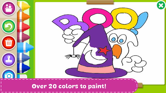 Download Halloween Coloring Book For PC Windows And Mac Apk Screenshot 9