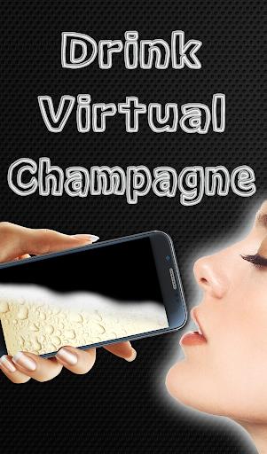 喝虛擬香檳
