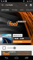 Screenshot of iFeel Radio