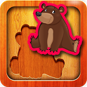 Kids Animal Puzzle Educational icon