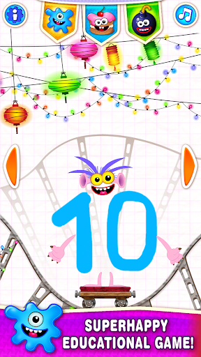 Learning numbers for kids! Writing Counting Games! 1.0.2.9 screenshots 1
