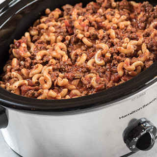Slow Cooker Goulash.