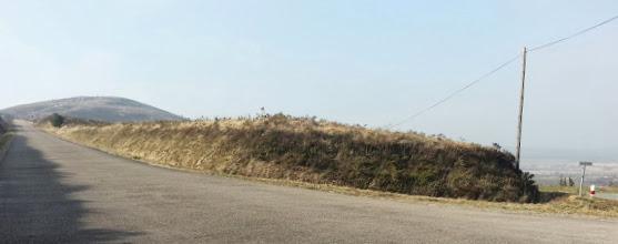 Photo: La partie finale vers le Mont St-Michel (à gauche).