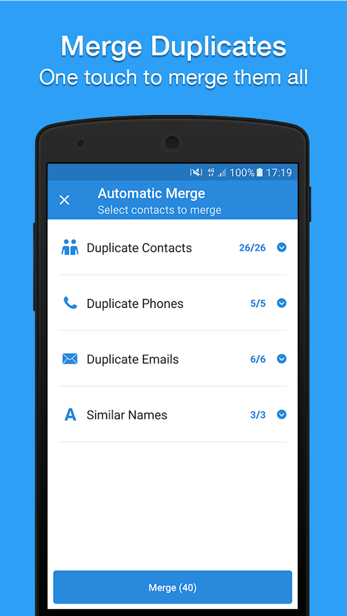 Contacts, Dialer, Phone & Caller ID by Simpler- screenshot