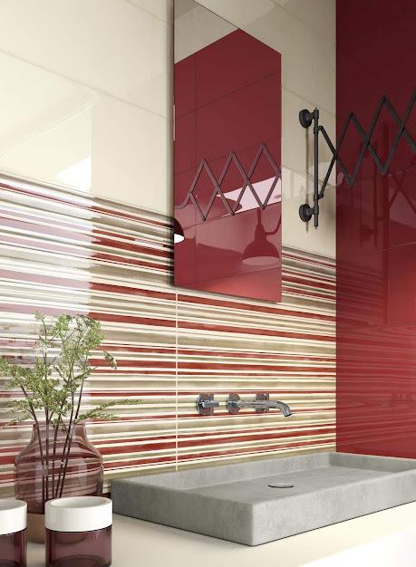 Ragno Frame - Bordó fürdőszoba