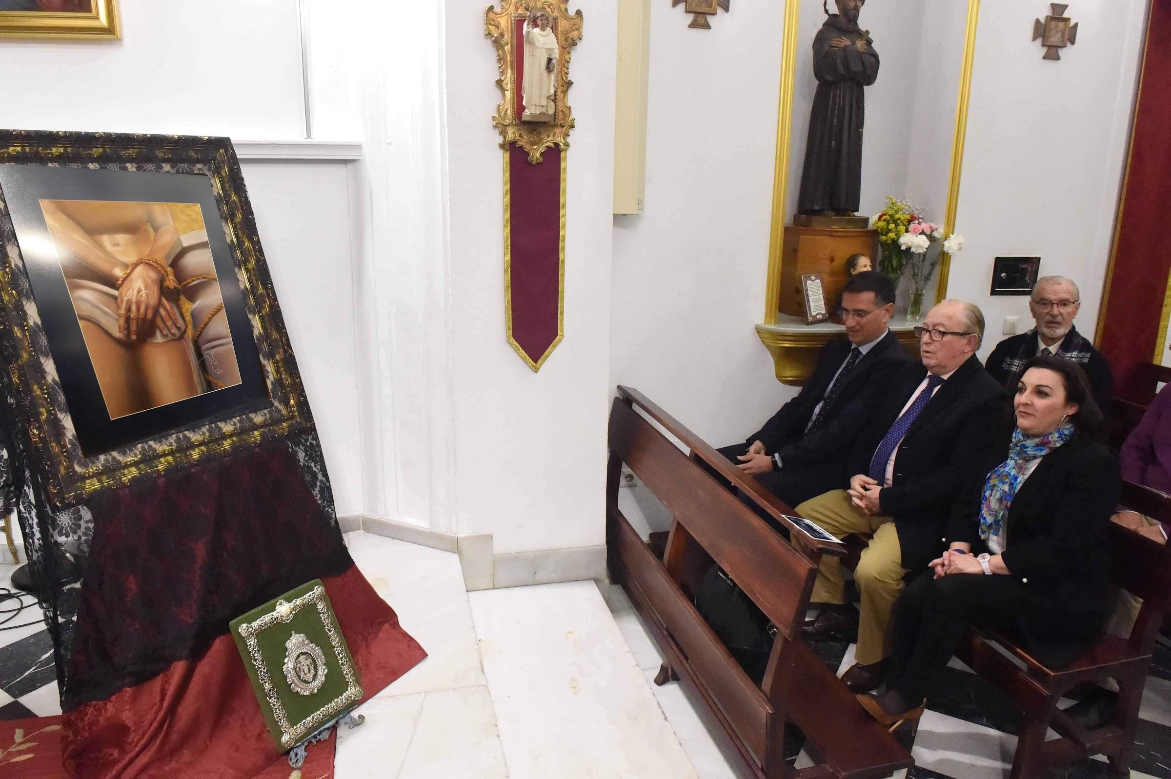 """Presentada la pintura del nuevo cartel anunciador de la exaltación de la Saeta de """"La Levantá"""""""