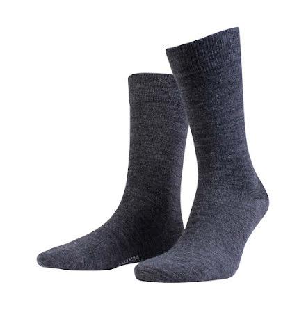 Amanda Christensen Grade ankle sock grey melange