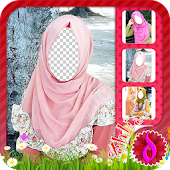 Hijab Fashion Photo Camera