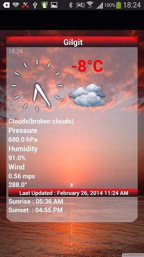 Pakistan Weather 1.10 screenshots 5