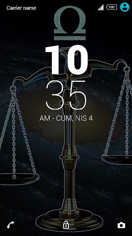 android For Xperia Theme Libra Screenshot 3