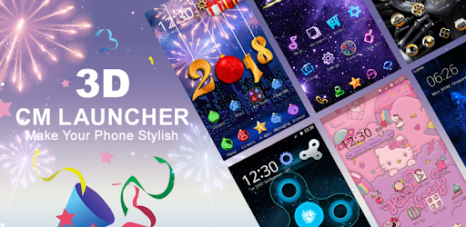 CM Launcher 3D - Theme, Wallpapers, Efficient for PC
