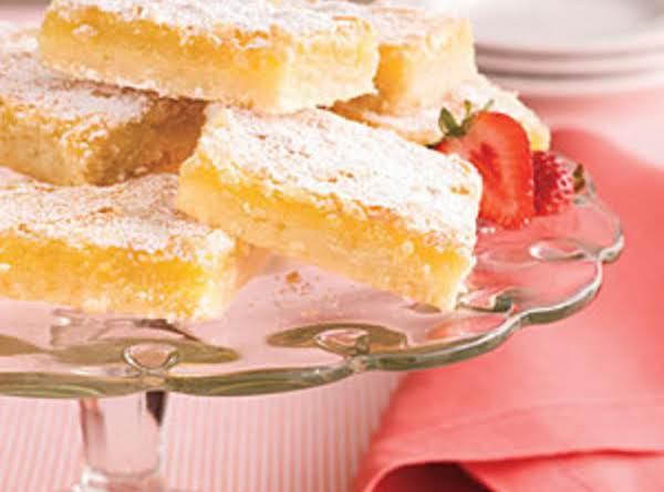 Luscious Lemon Bars Recipe