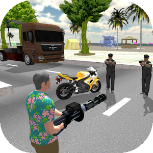 Miami Crime Simulator 2 App icon
