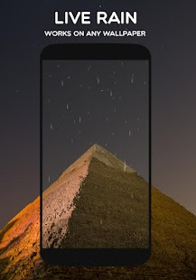 Wetter Live Wallpaper:Startbildschirm Prognose 💧❄ Screenshot