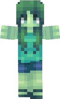 Zombie Nova Skin - Skins para minecraft pe zombie