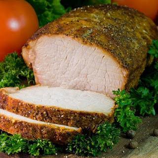 Simple Savory Pork Roast.