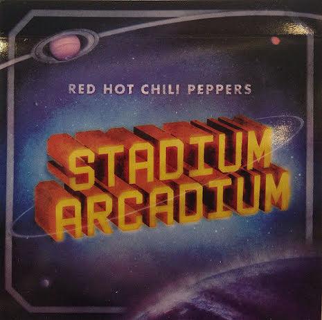 Klistermärke - RHCP - Stadium