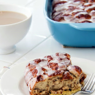 A Cinnamon Roll Breakfast Casserole Recipe
