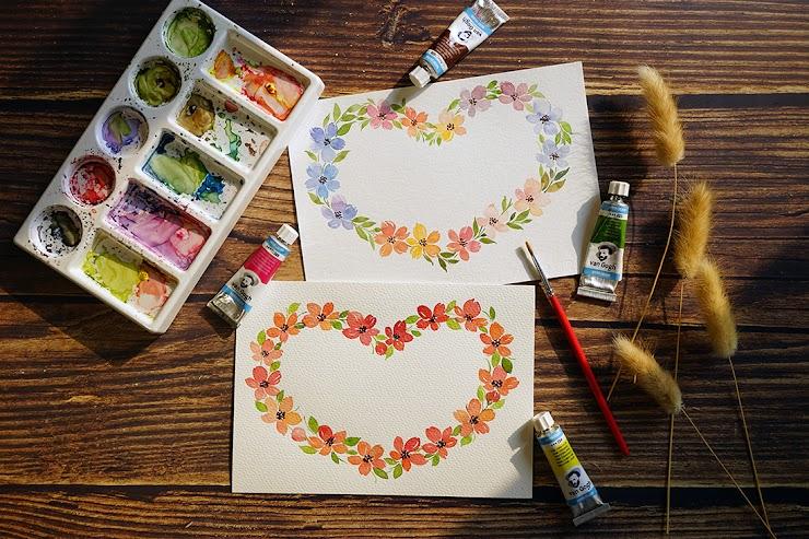 Beginners' Floral Watercolor Painting Workshop