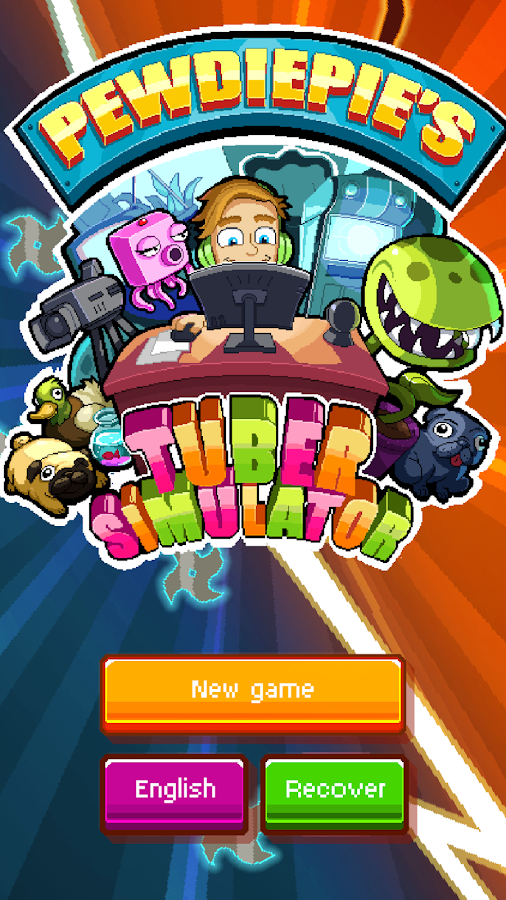 PewDiePie's Tuber Simulator- screenshot