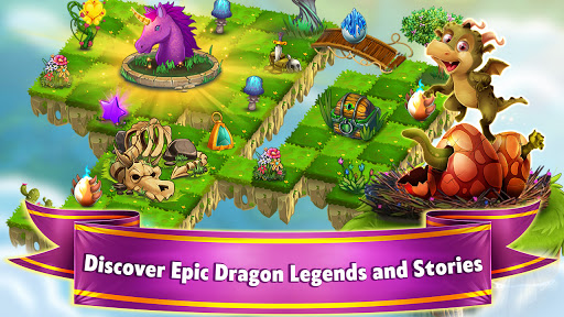 Dragon Land - Free Merge and Match Puzzle Game 0.36 screenshots 1