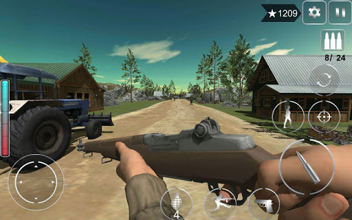 Call Of Courage : WW2 FPS Action Game apkdebit screenshots 9