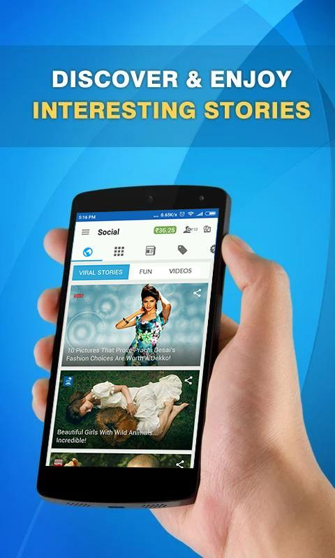 DON: Read News, Stories for Free & Earn- screenshot