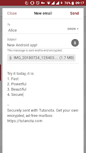 Tutanota – Free Secure Email App Latest Version Download For Android and iPhone 5