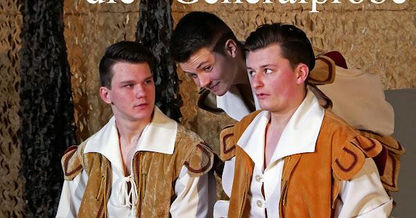 Viel Lärm um Nichts - Und das war erst die Generalprobe! Jugendtheater St. Matthäus Melle