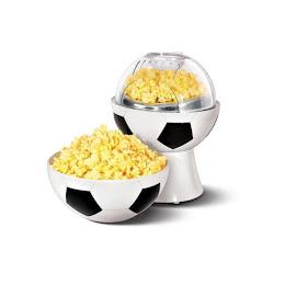 Aparat electric de facut popcorn in forma de minge de fotbal