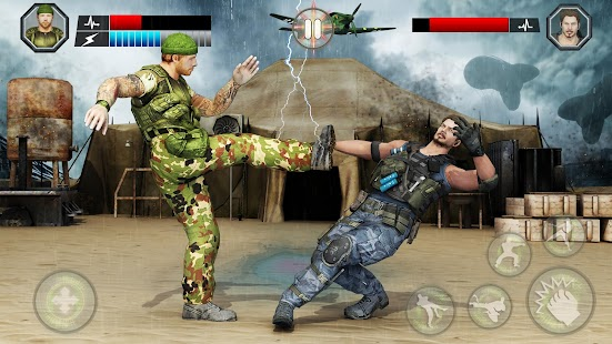 US Army Fighting Games: Kung Fu Karate Battlefield Screenshot