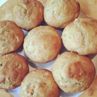 Autumn Honey-Nut Yogurt Muffins.